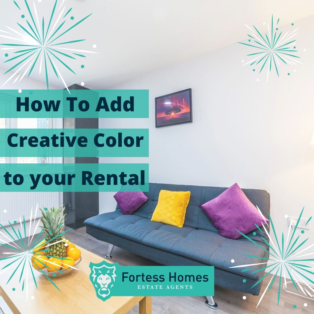 How to Add Creative Color to your Rental