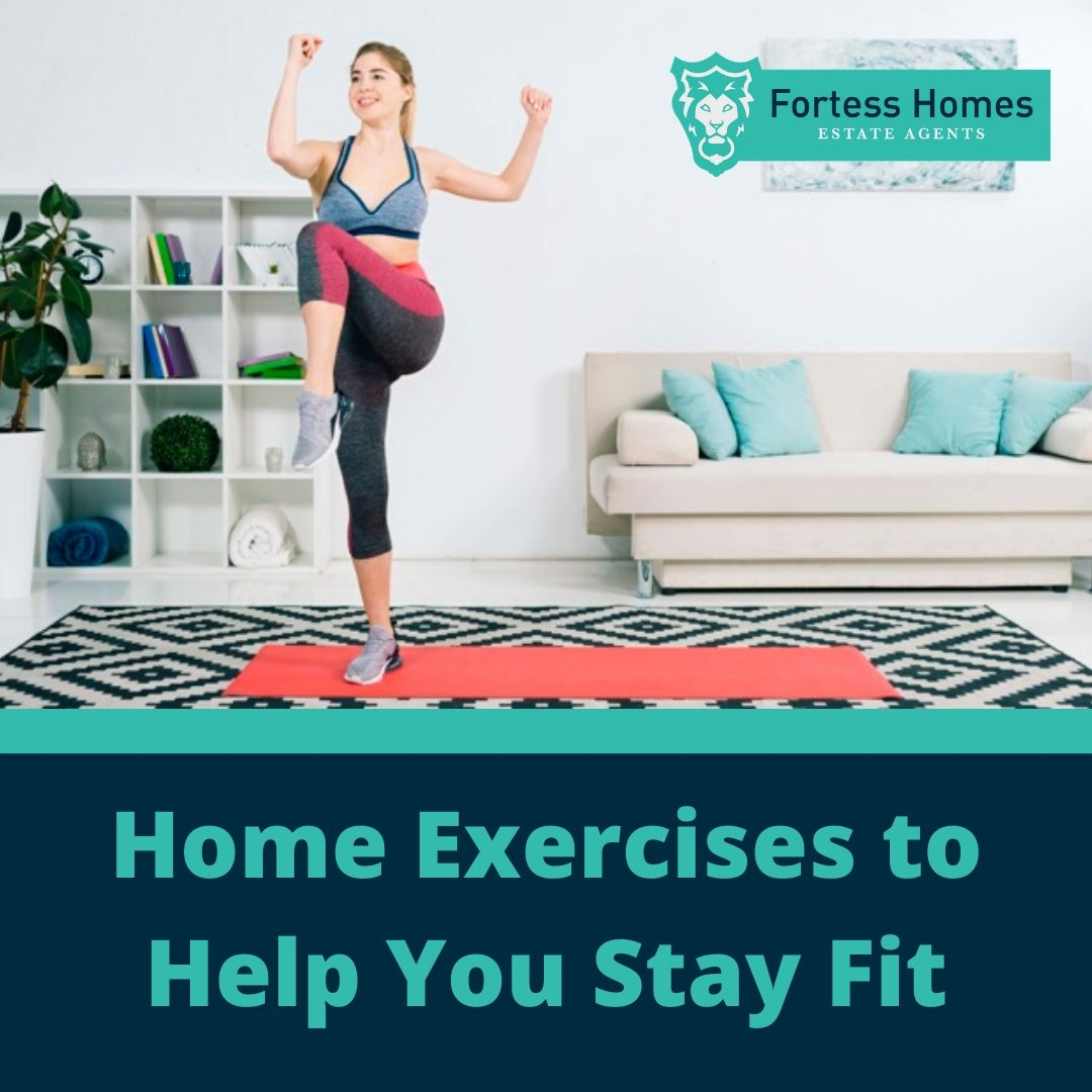 Home Exercises to Help You Stay Fit