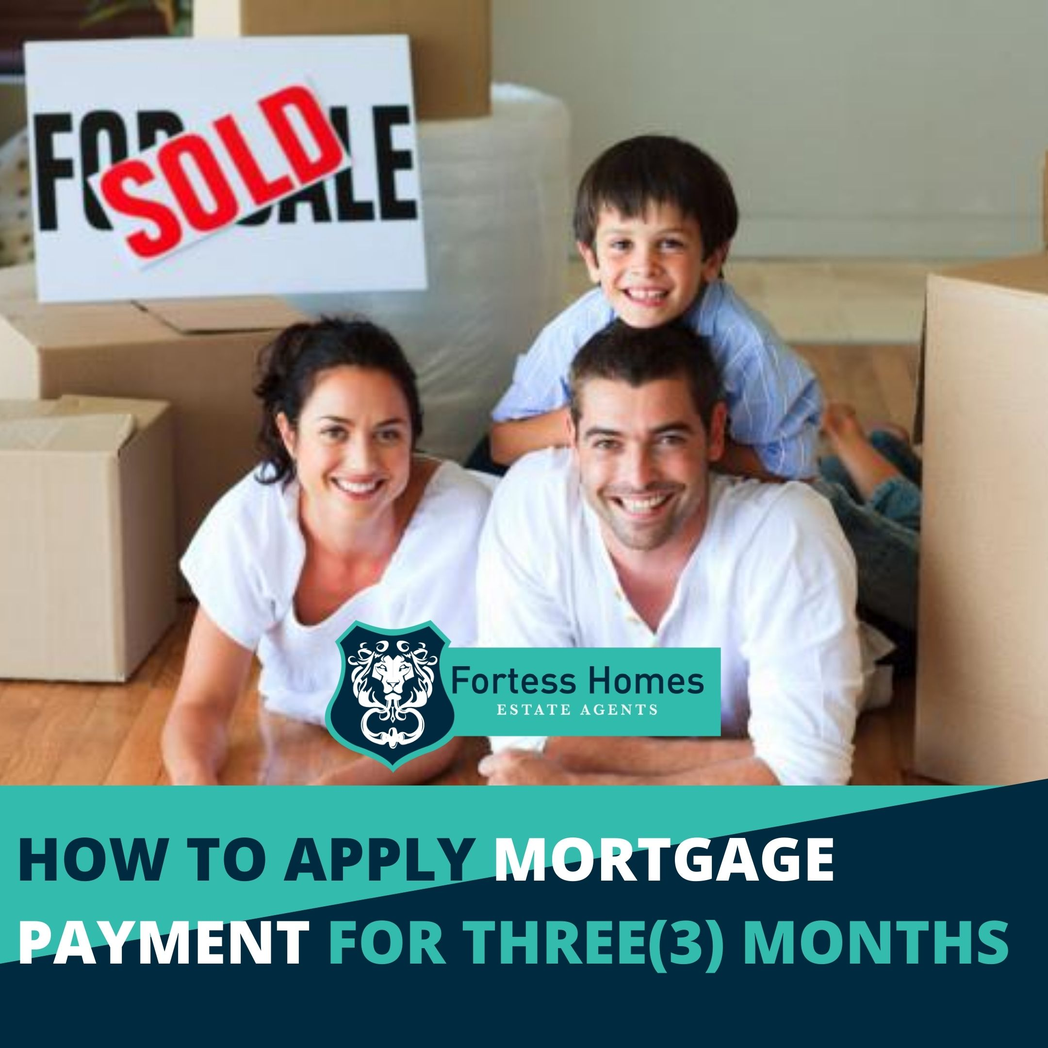 HOW TO APPLY MORTGAGE PAYMENT FOR THREE(3) MONTHS