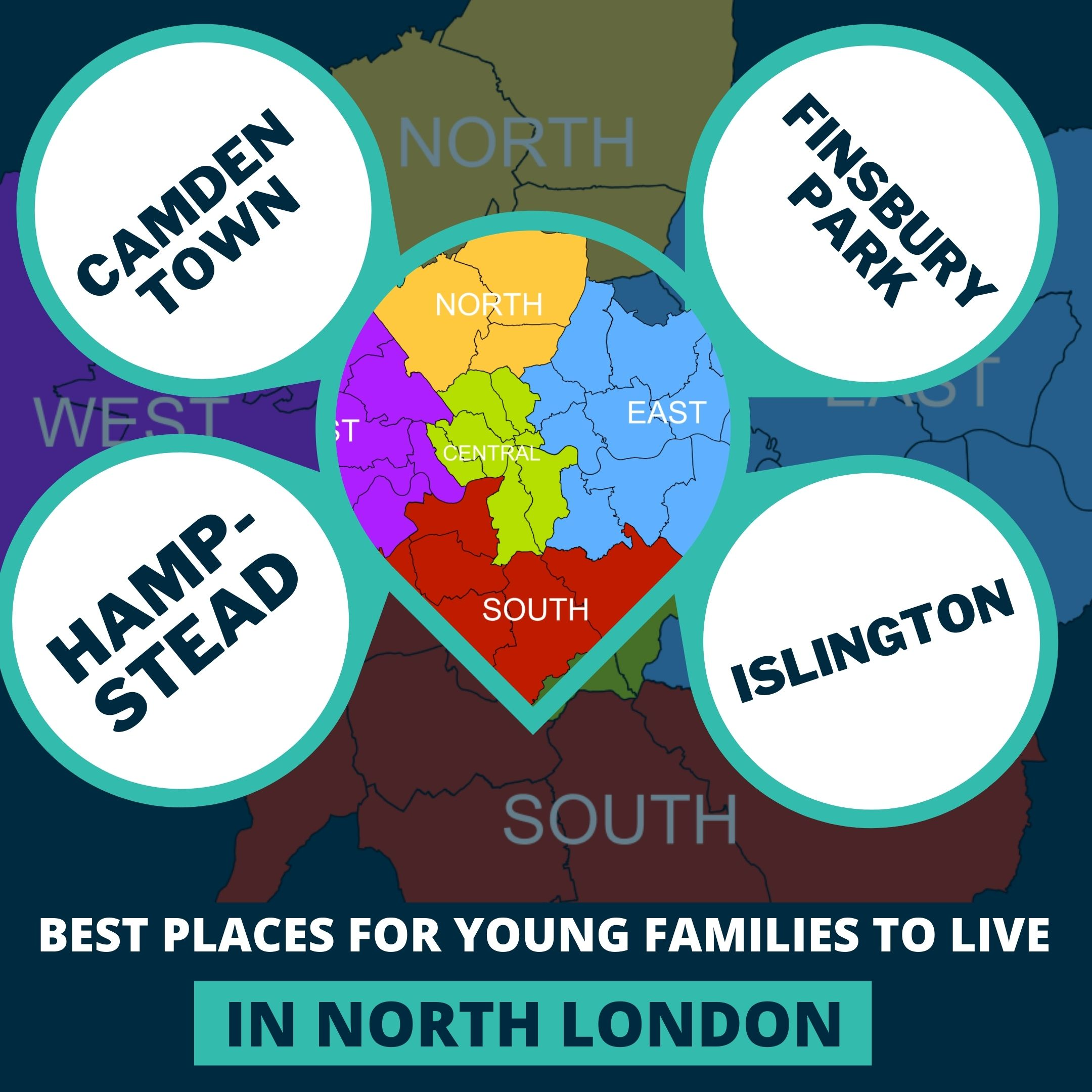 BEST PLACES FOR YOUNG FAMILIES TO LIVE IN NORTH LONDON