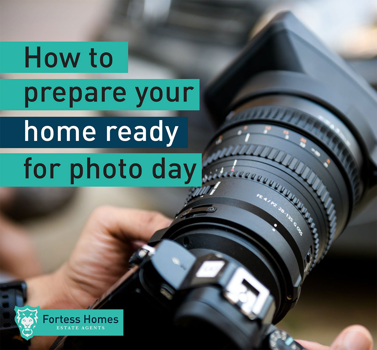 How to prepare your home ready for photo day