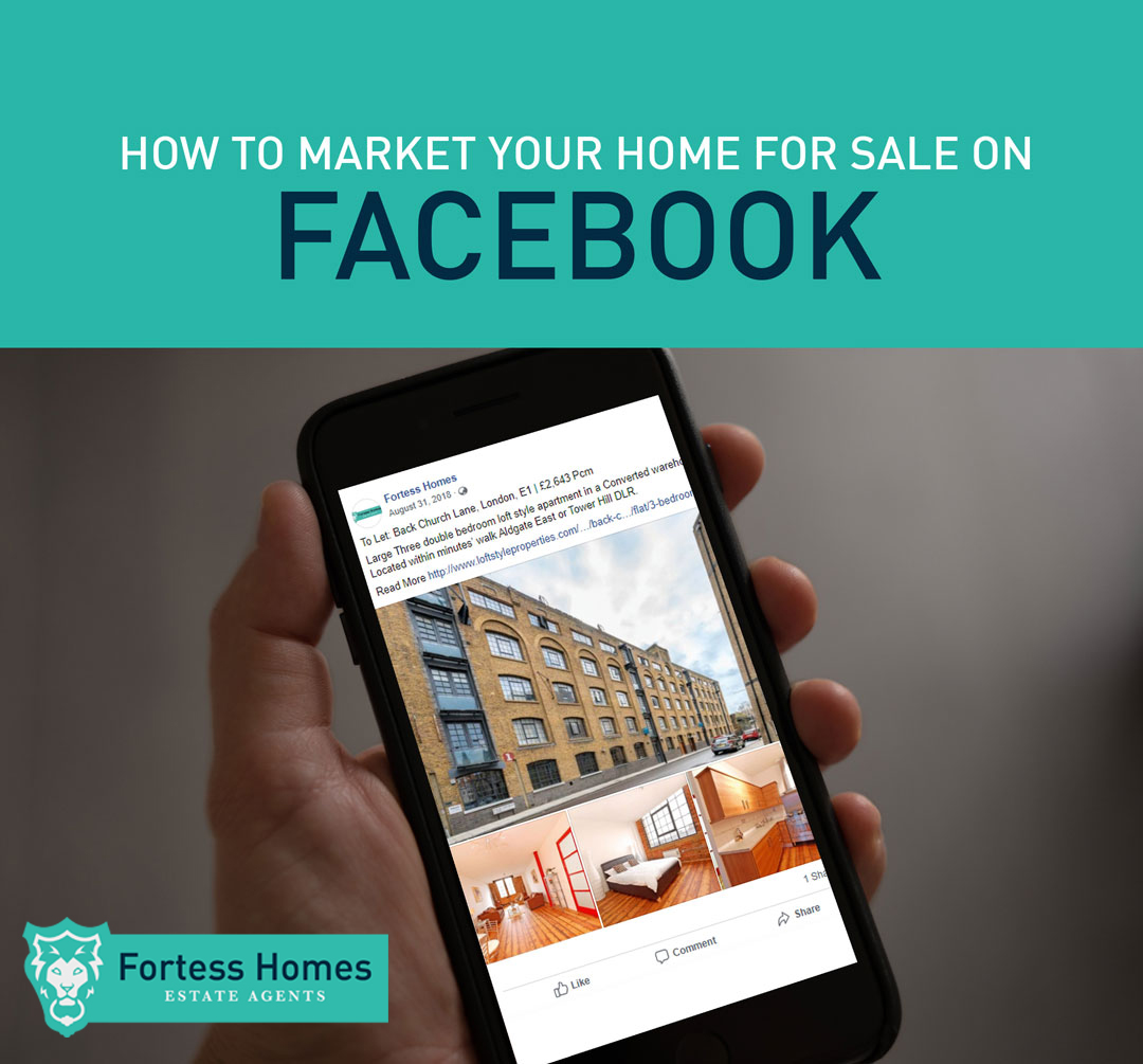 HOW TO MARKET YOUR HOME FOR SALE ON  FACEBOOK