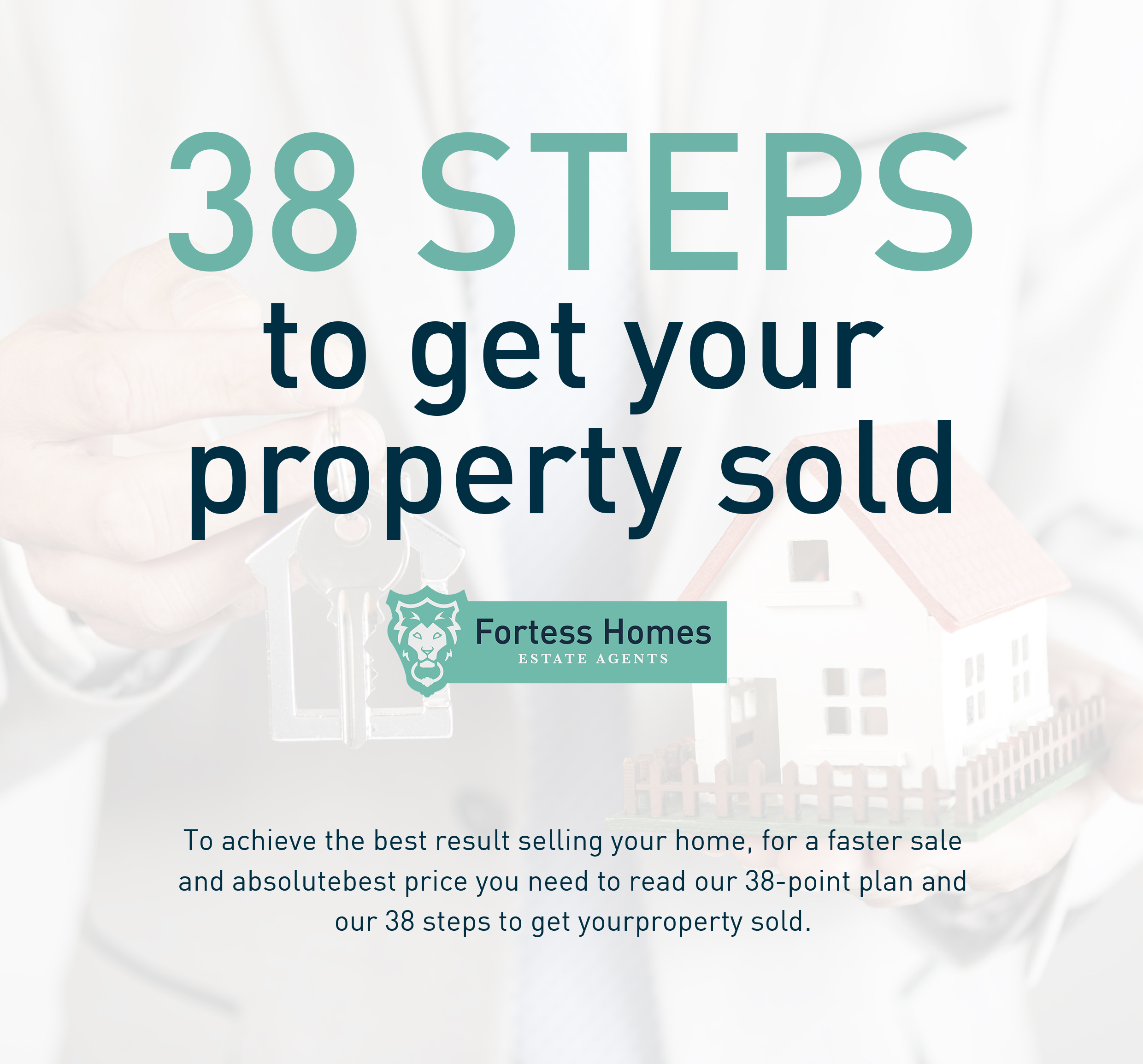 38 steps to get your property sold
