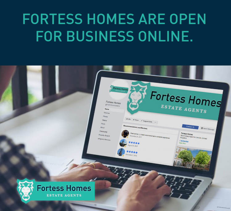 FORTESS HOMES ARE OPEN FOR BUSINESS ONLINE
