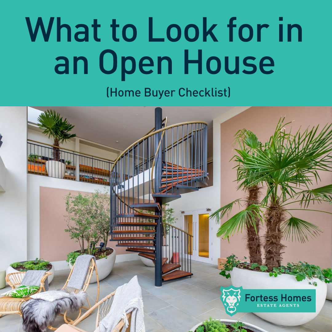 What to Look for in  an Open House  (Home Buyer Checklist)
