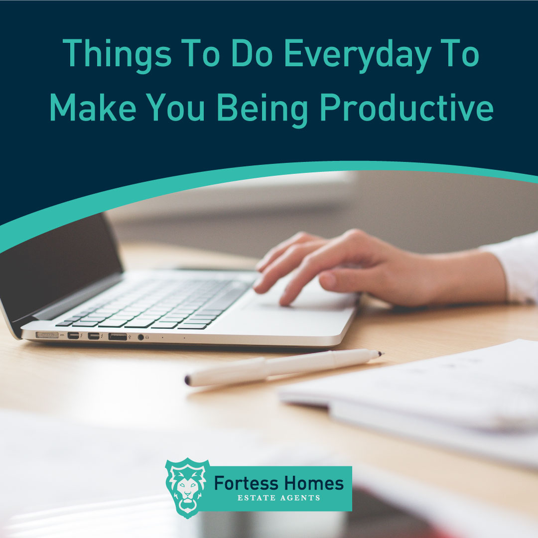 Things To Do Everyday To Make You Being Productive